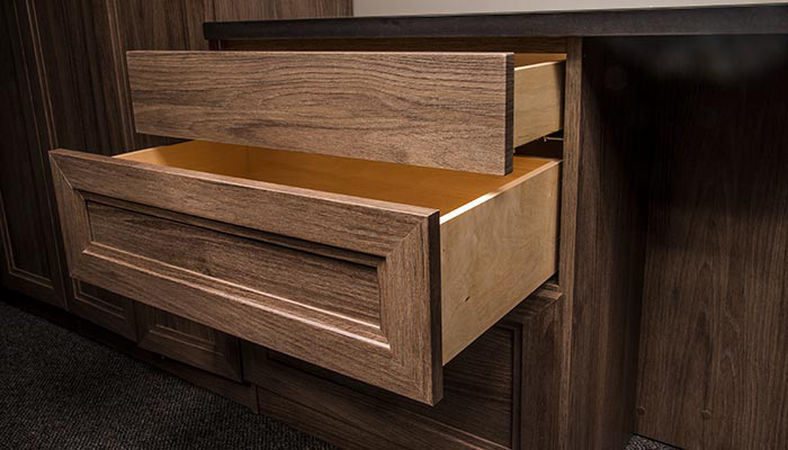 Drawers out