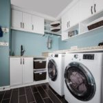 white-laundry-cabinets