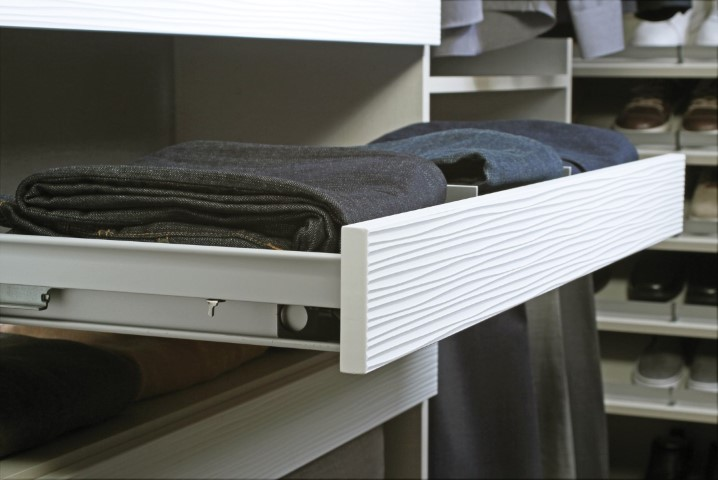 Shelf with Drawer Face Adapter